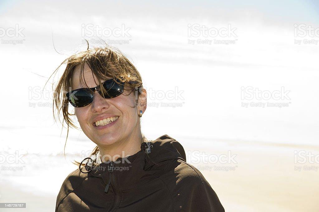 Lächelnde Frau – Foto