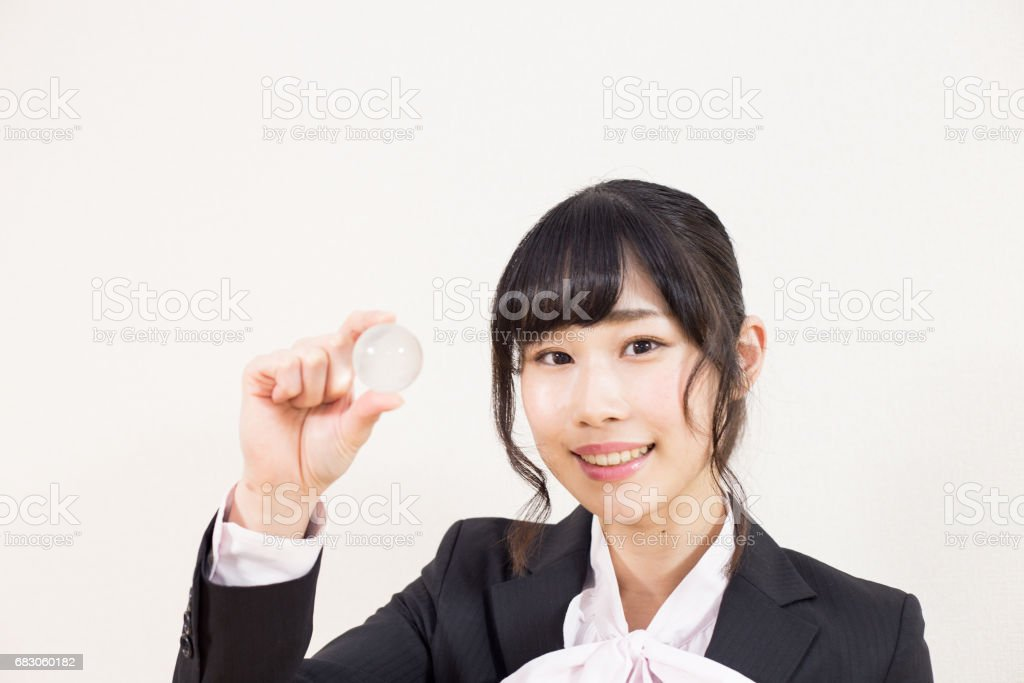 笑顔の女性 foto de stock royalty-free