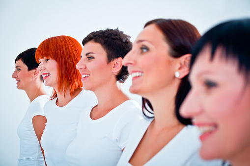 Smiling Women Stock Photo - Download Image Now