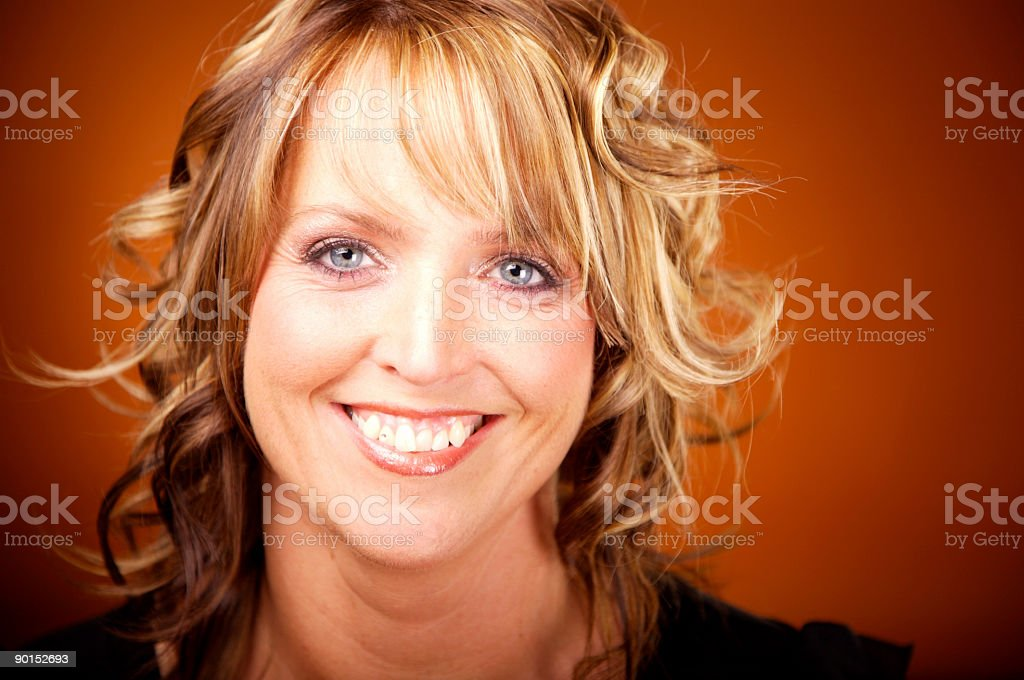 smiling women portrait royalty-free stock photo