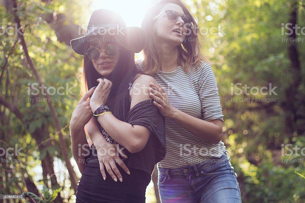 Lesben aus mehr als einem mädchen