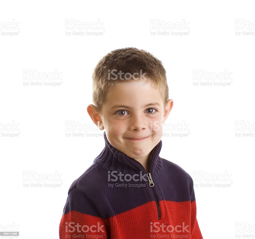 Smiling Young Boy royalty-free stock photo