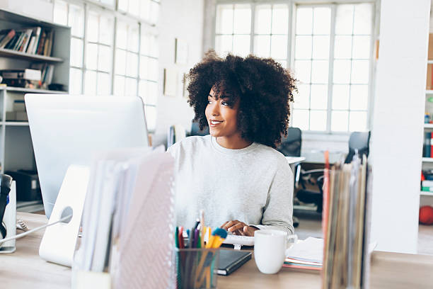 Image result for smiling in office istock