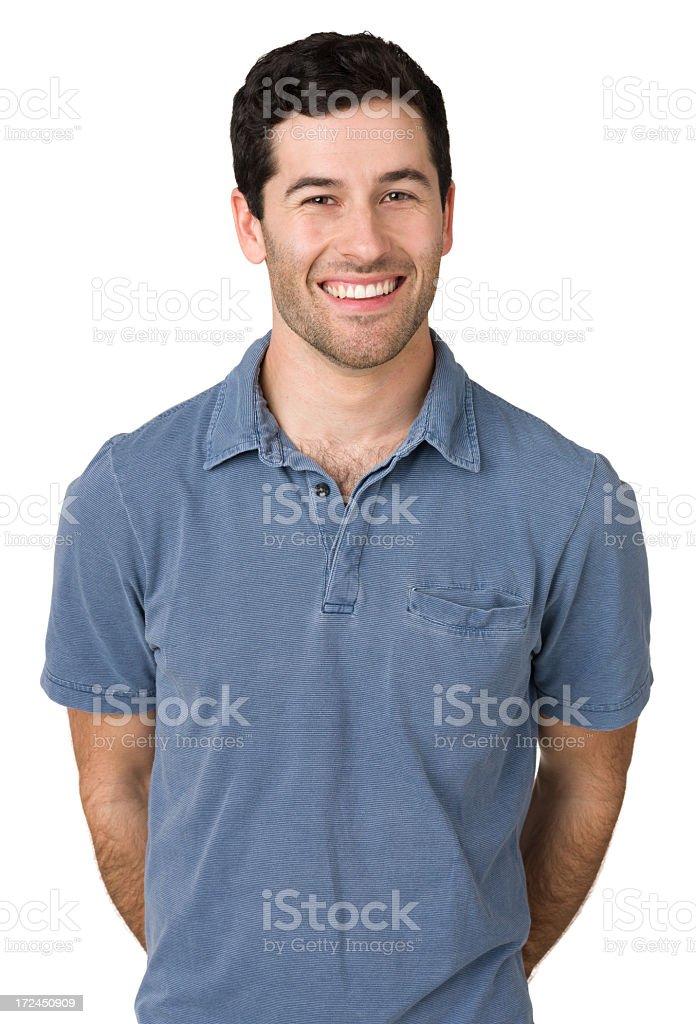 Smiling Young Man Looking At Camera royalty-free stock photo