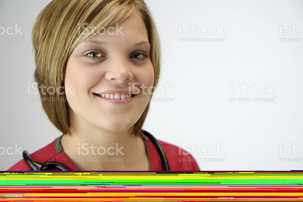 Smiling Young Nurse royalty-free stock photo