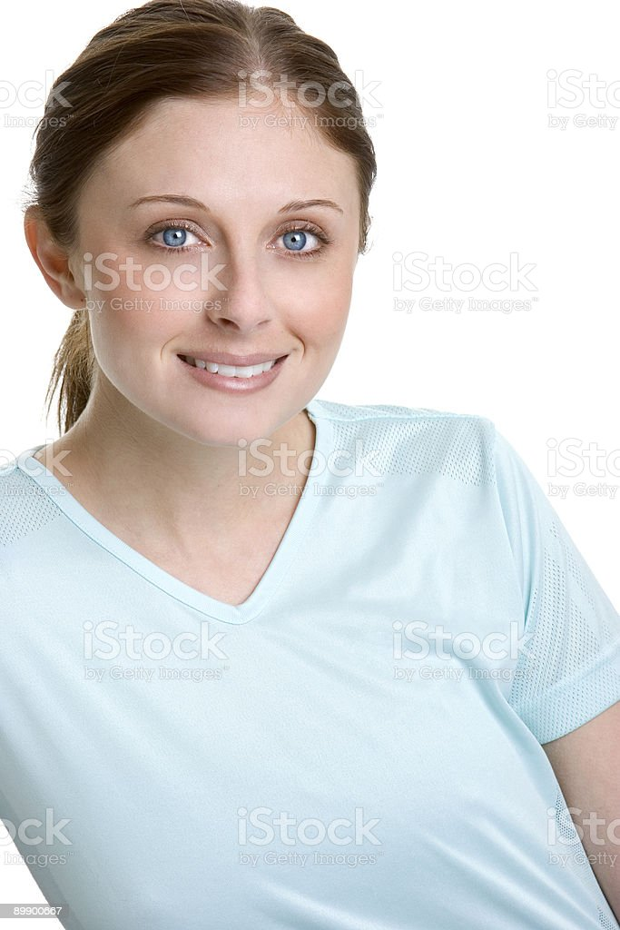 Smiling Young Teen royalty-free stock photo
