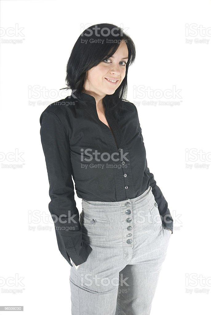 Uśmiechający się kobieta - Zbiór zdjęć royalty-free (20-29 lat)