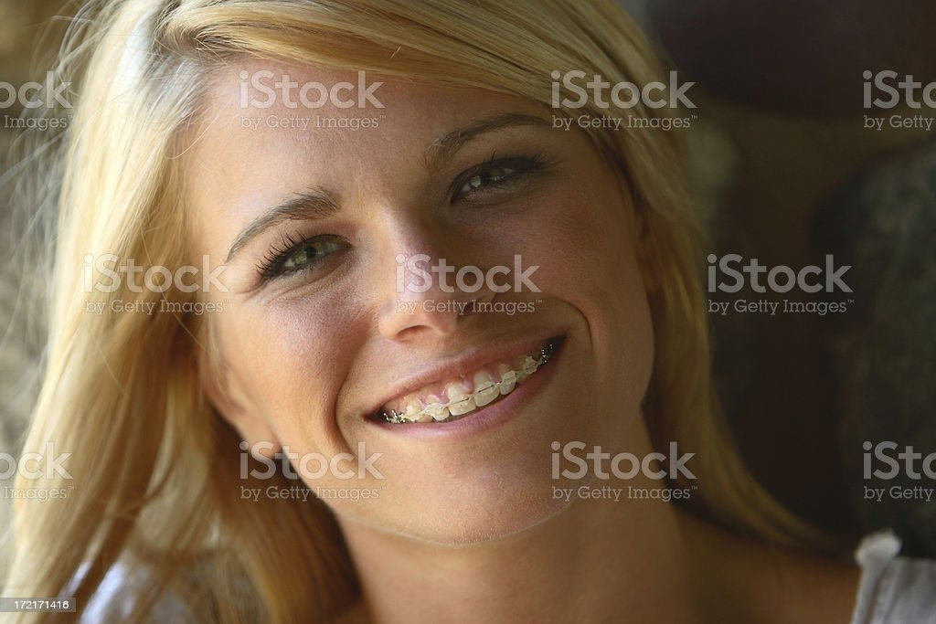 Smiling young women - Royalty-free 16-17 Years Stock Photo