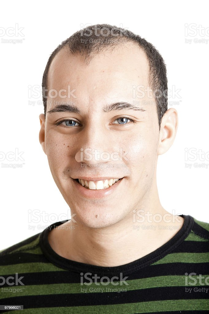 Smilling royalty free stockfoto