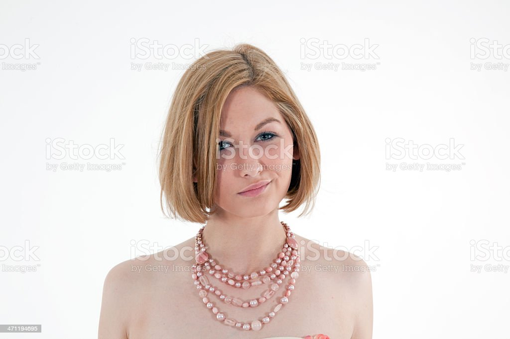 Smirk royalty-free stock photo