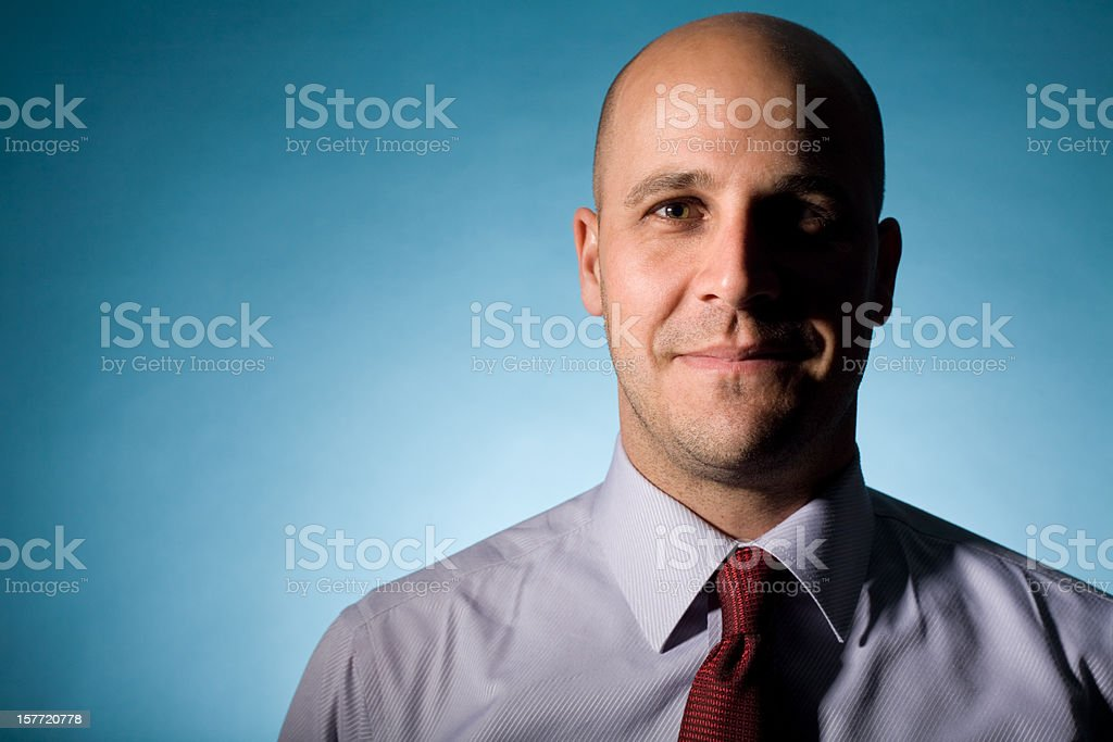 smirking royalty-free stock photo