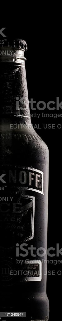 Smirnoff Ice Black stock photo