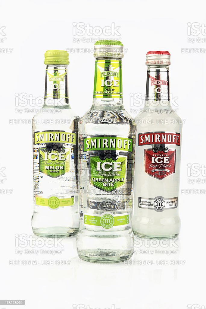 Smirnoff Ice stock photo