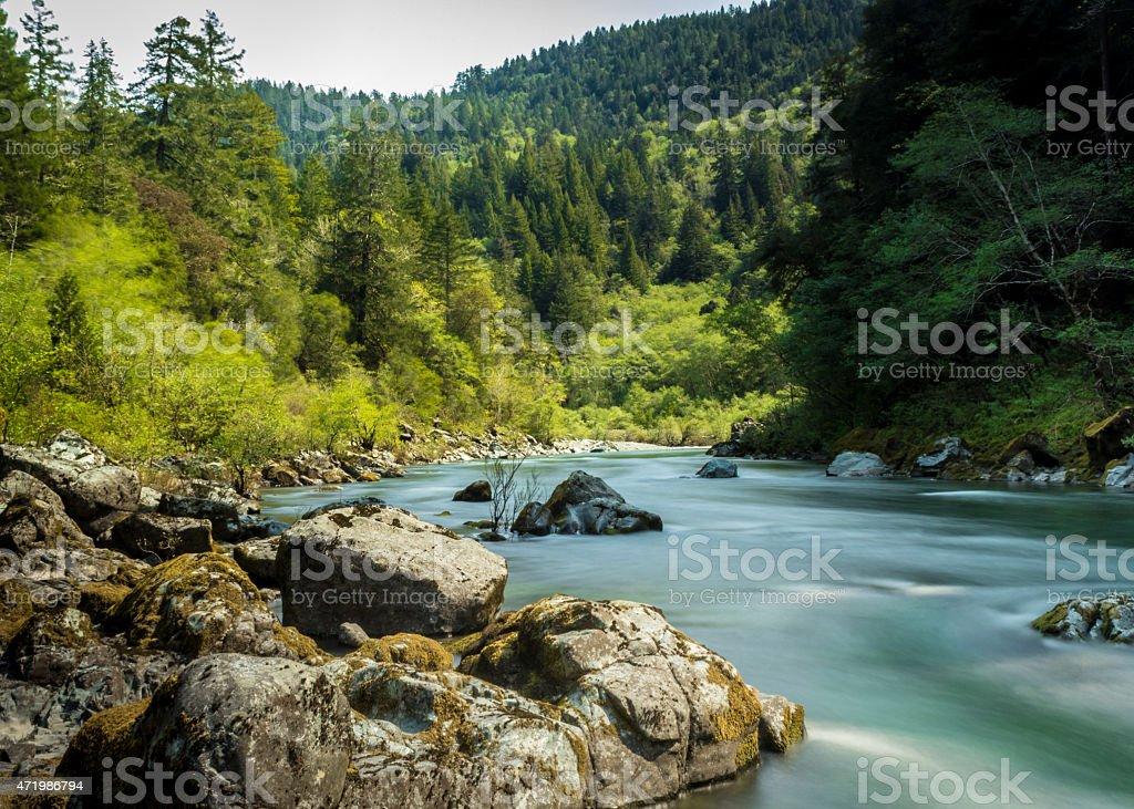 Smith River, Del Norte County California, USA stock photo