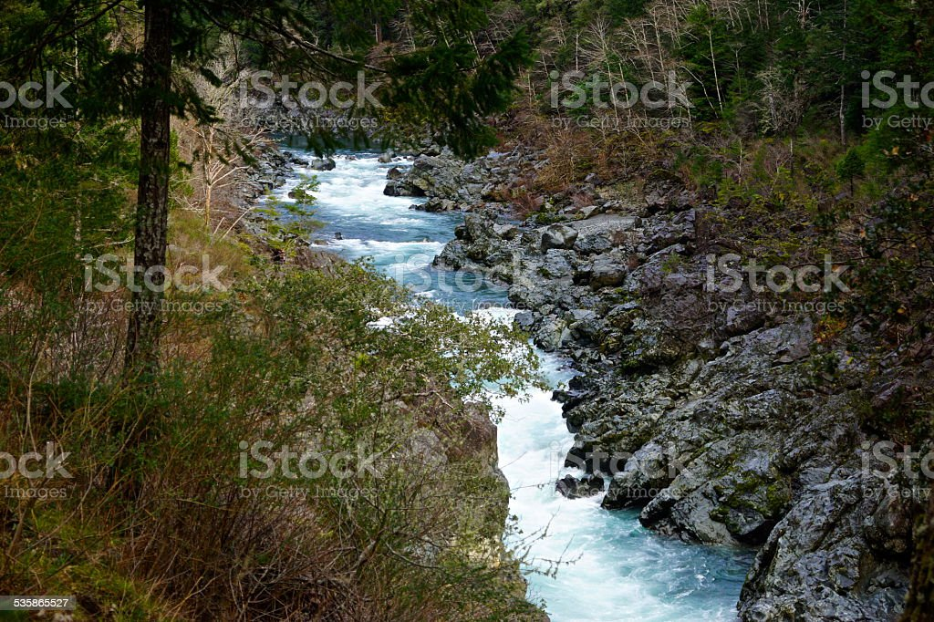 Smith River Wild stock photo