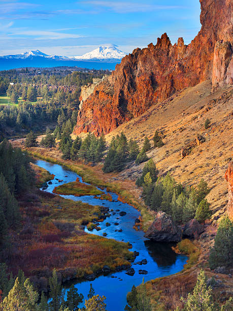 Smith Rock Park, Central Oregon - foto stock