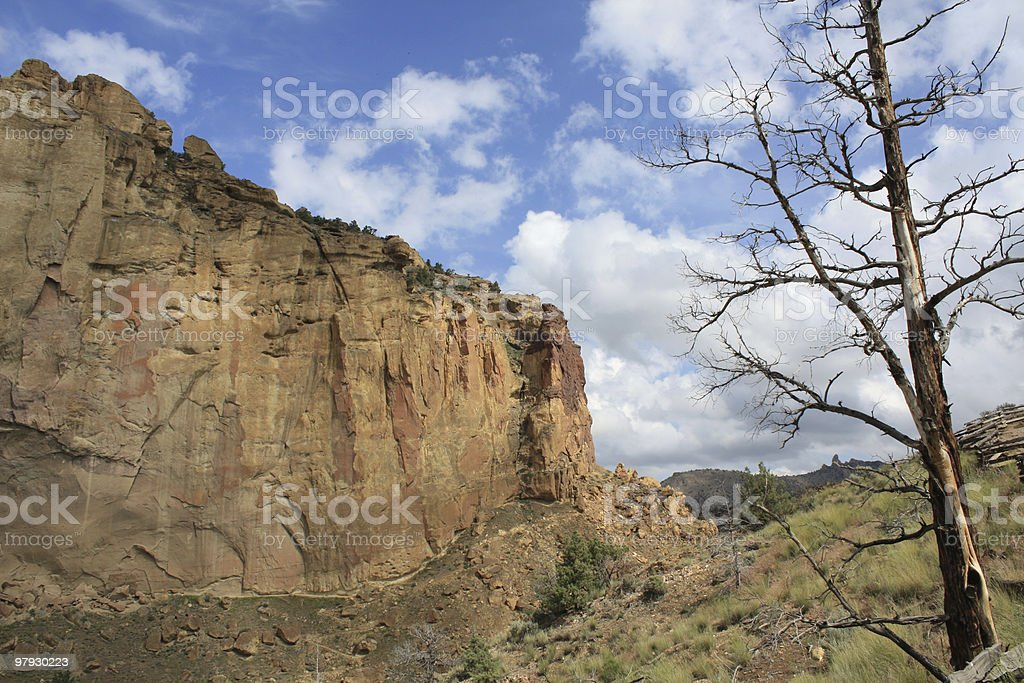 Smith Rock State Park royalty-free stock photo