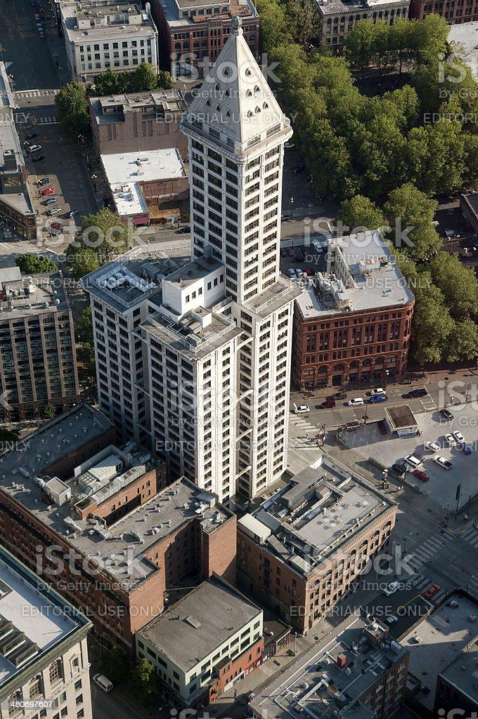 Smith Tower stock photo