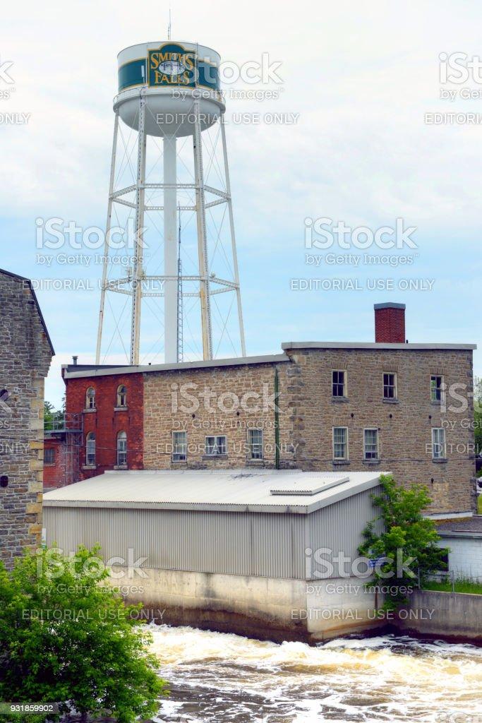 Smiths Falls, Ontario, Canada stock photo