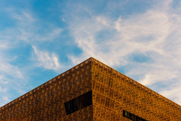 Smithsonian Institution – National Museum of African American History and Culture stock photo
