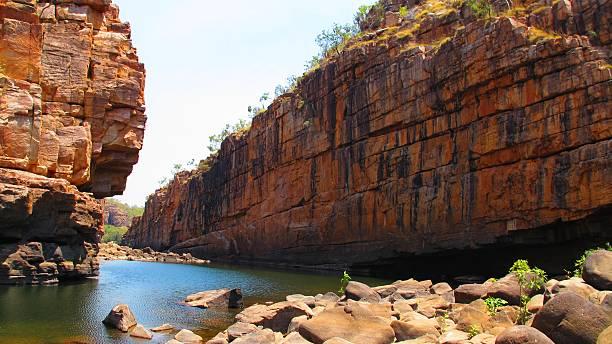 Smitt Rock, Katherine Gorge, Australia stock photo