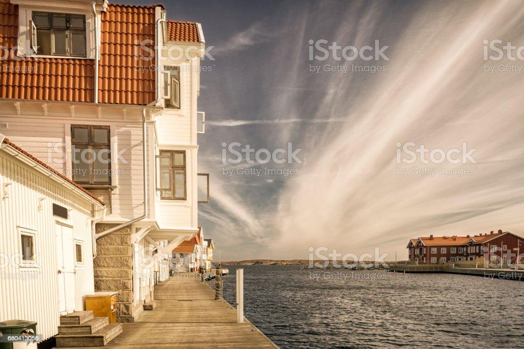 Smogen jetty stock photo
