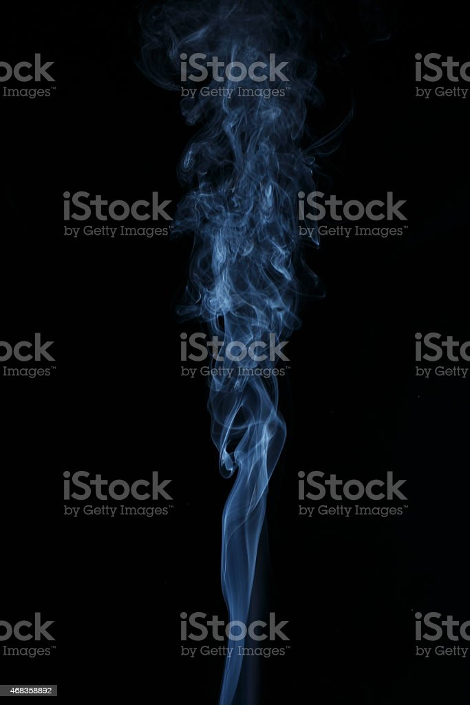 Smoke Abstract Vertical royalty-free stock photo