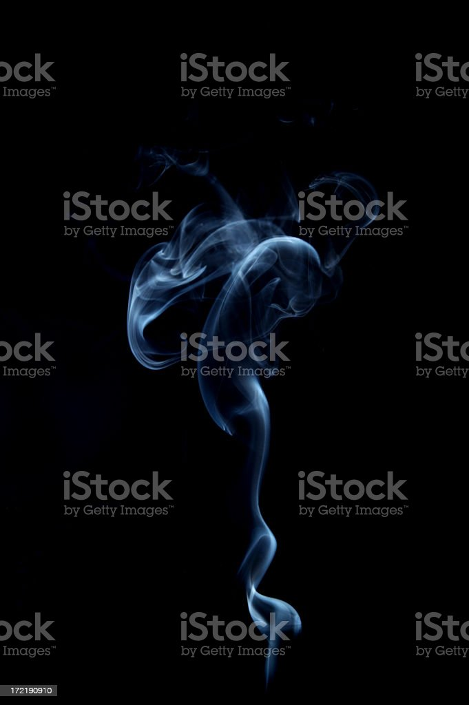 Smoke abstraction royalty-free stock photo