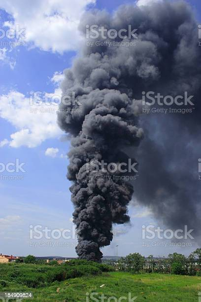 Smoke And Fire Stock Photo - Download Image Now