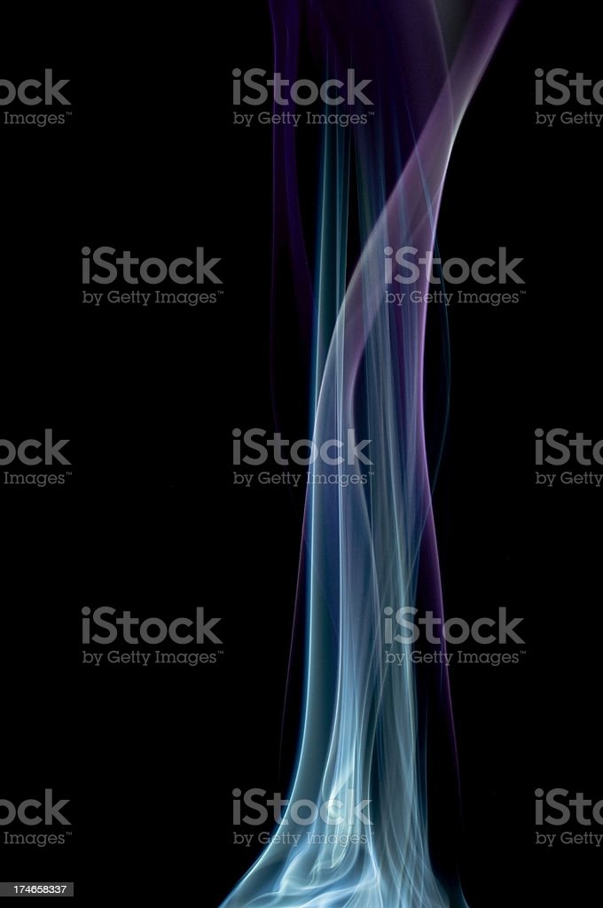 Smoke Arts royalty-free stock photo
