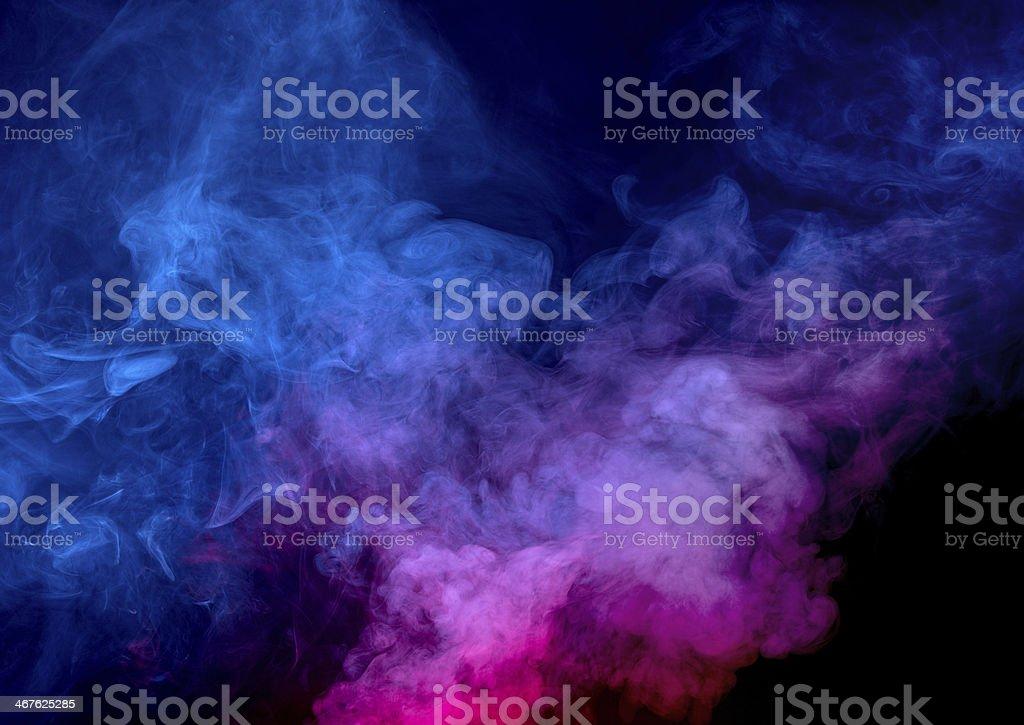Smoke background stock photo