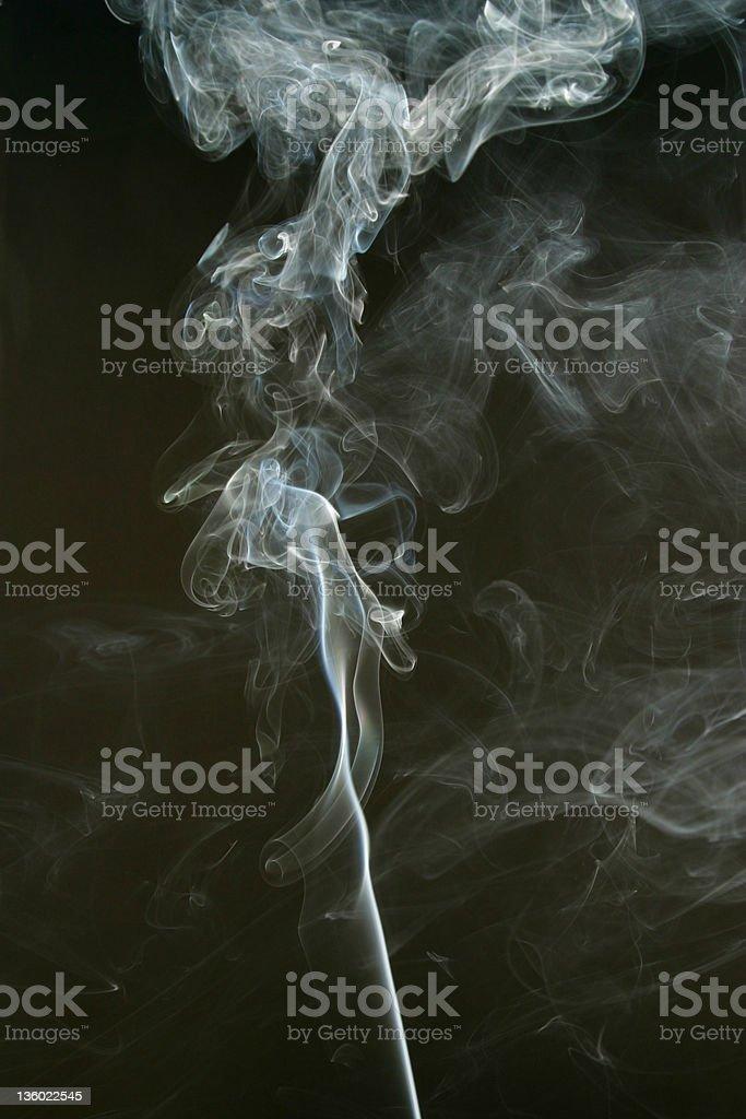 Smoke Cloud  Smoking 5 royalty-free stock photo