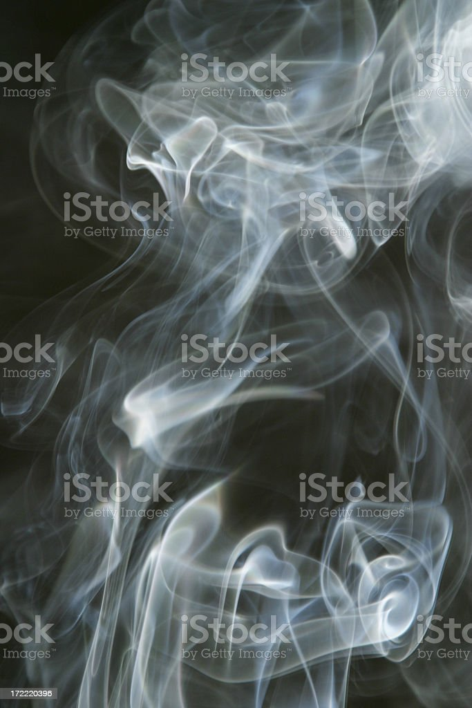 Smoke Cloud Smoking 8 royalty-free stock photo
