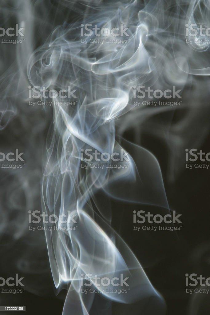 Smoke Cloud Smoking 9 royalty-free stock photo