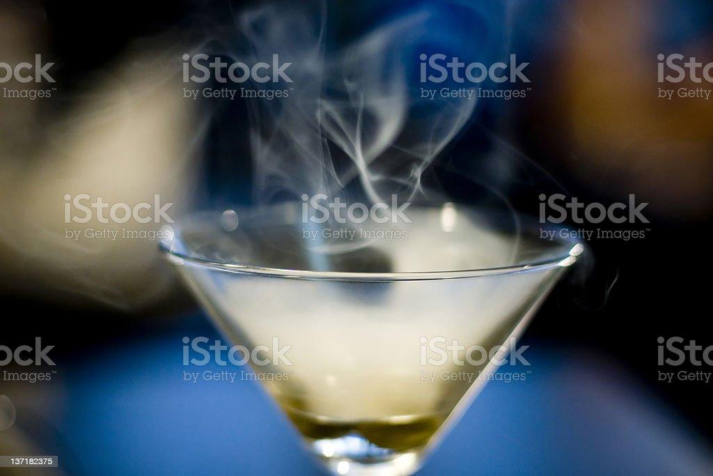 smoke cocktail royalty-free stock photo