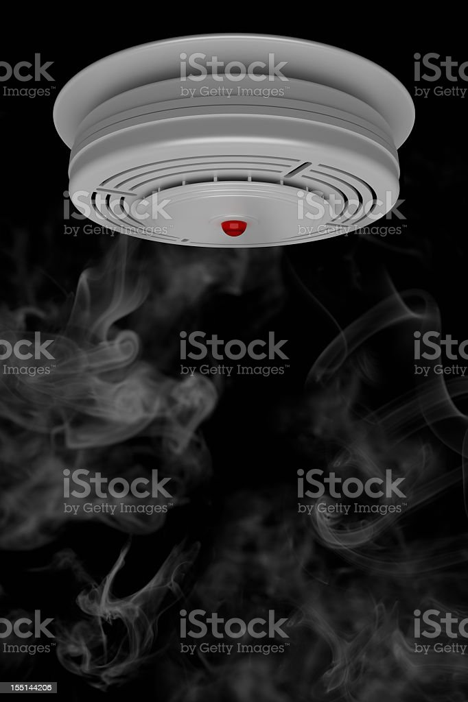 Smoke Detector royalty-free stock photo