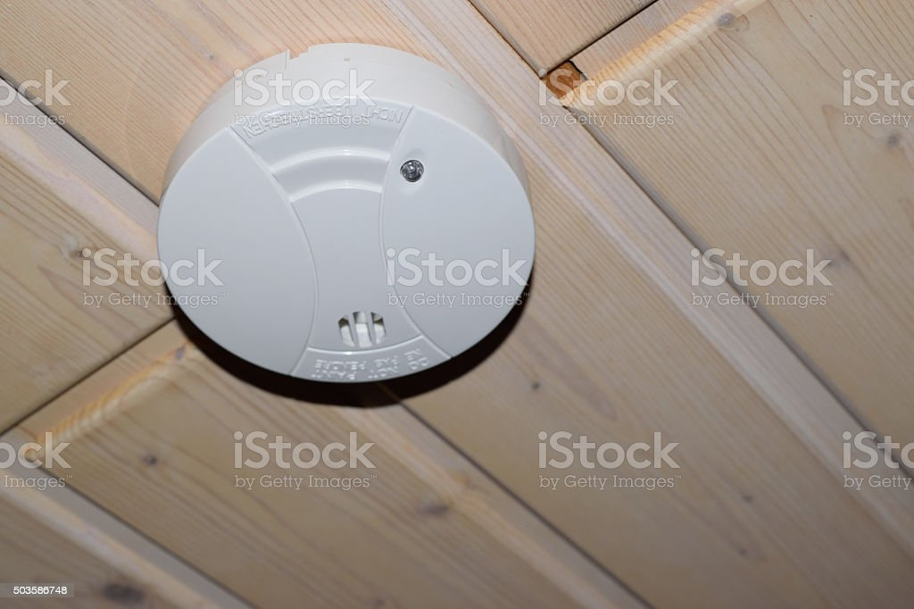Rauchmelder stock photo
