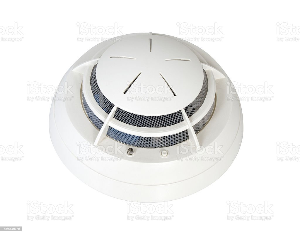 Smoke Detector royalty-free stock photo