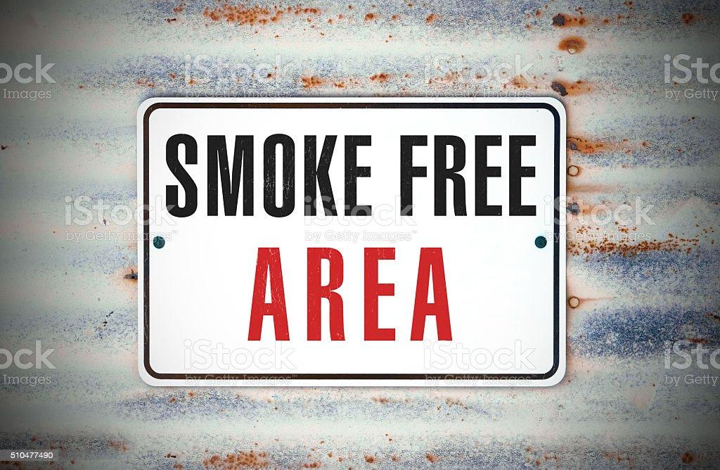 Área livre de fumo - foto de acervo