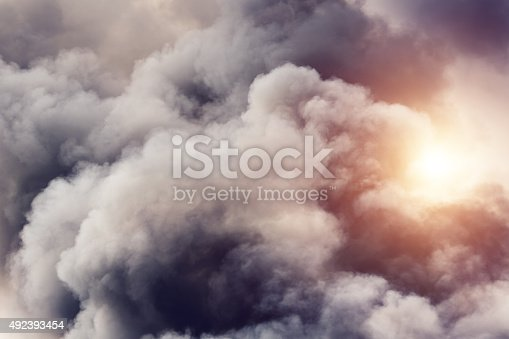 istock Smoke From Fire 492393454