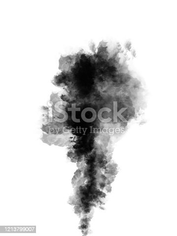 504797668 istock photo smoke isolated on white background 1213799007