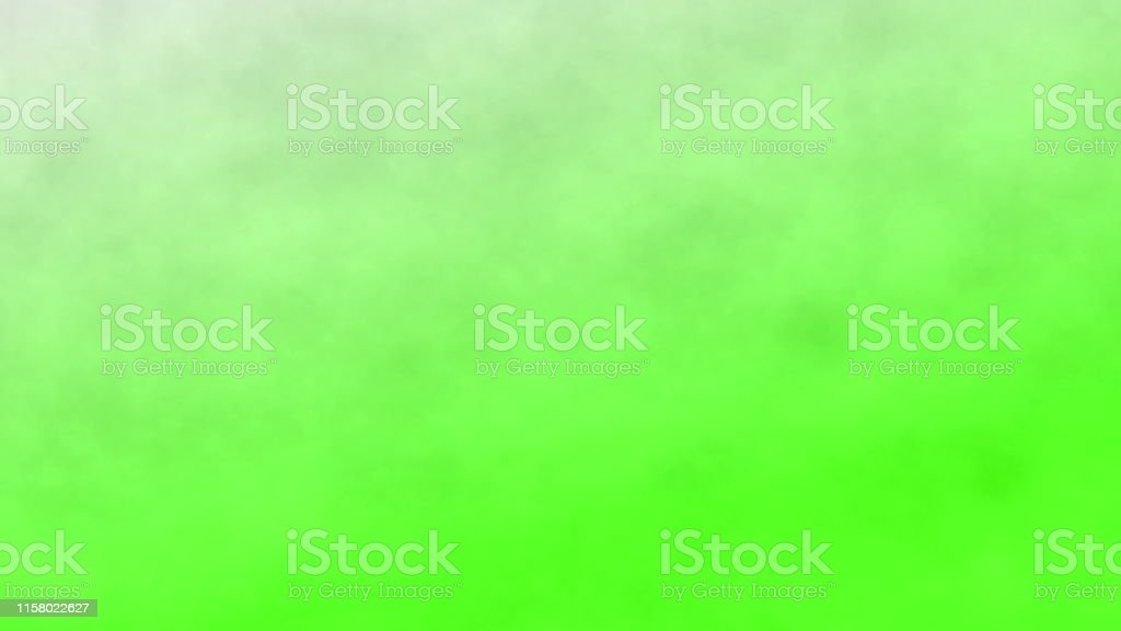 Smoke On A Green Screen Background Abstract Background 3d