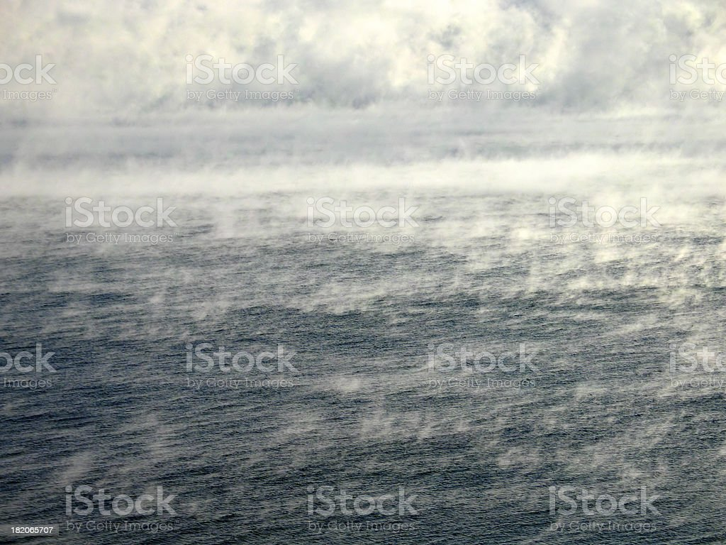 Smoke on the Water stock photo