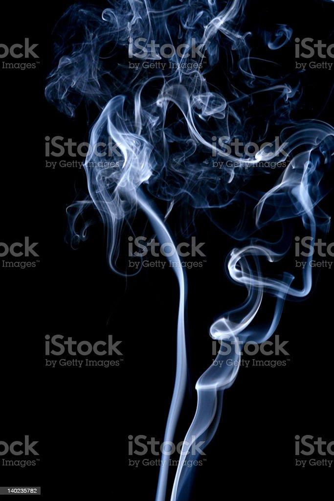 Smoke Pattern stock photo