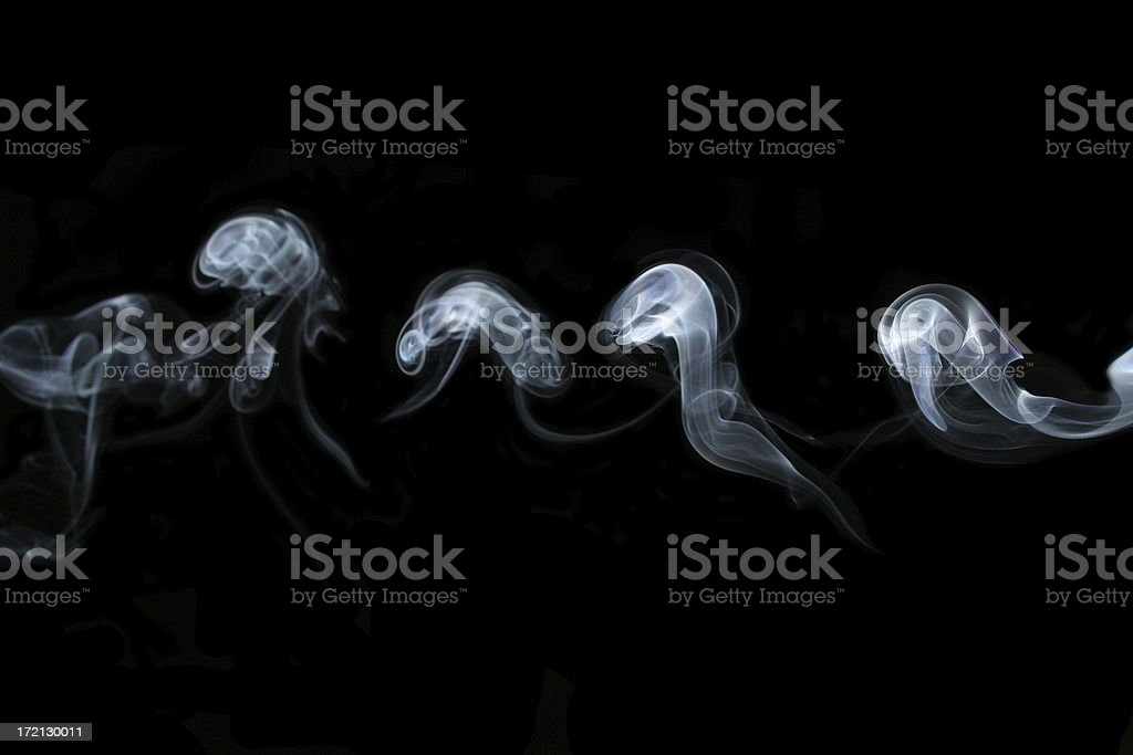 smoke pearls royalty-free stock photo
