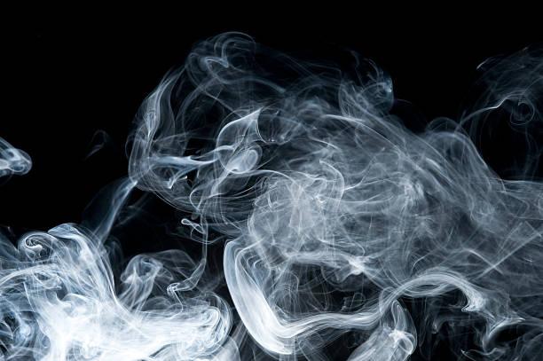 De humo - foto de stock