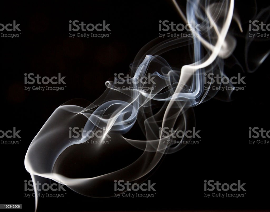 smoke royalty-free stock photo