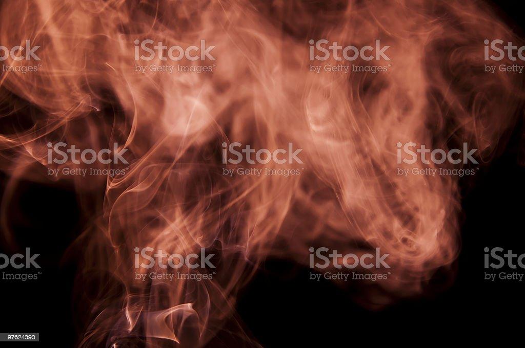 Smoke royaltyfri bildbanksbilder
