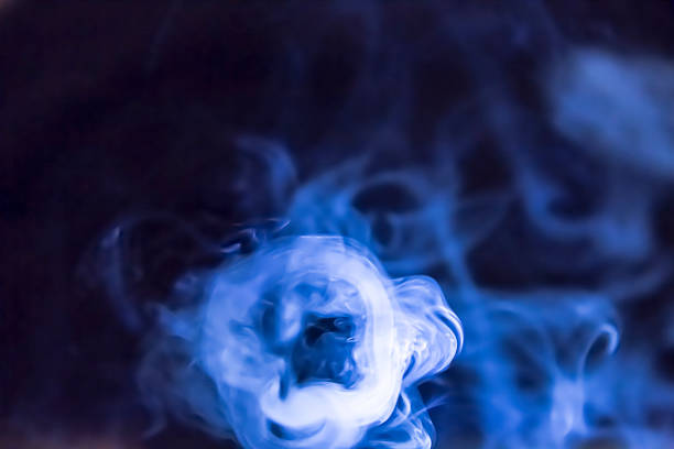 Smoke Ring stock photo