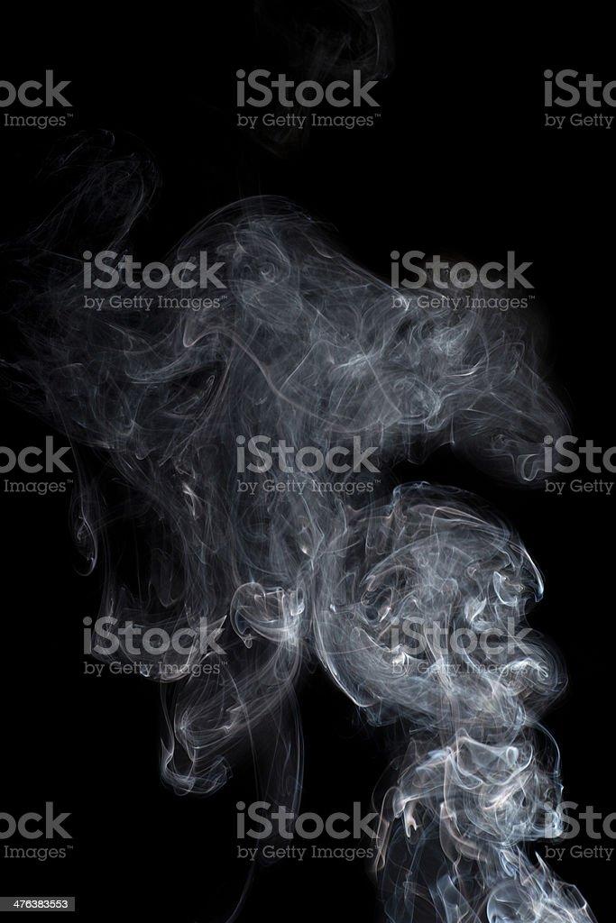 Smoke Rising royalty-free stock photo
